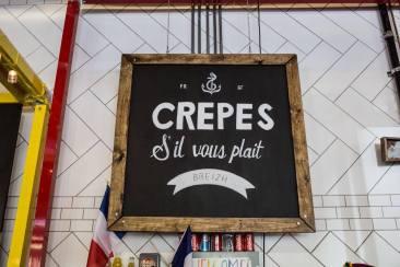 Logo de Crêpes S'il vous plaît basé à San Francisco
