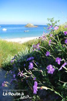 La route à deux visite l'aspect sauvage d'une île bretonne