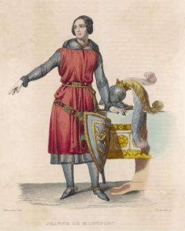 Portrait de Jeanne de Belleville