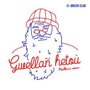 Traduction bretonne : Nedeleg Laouen = Joyeux Noël