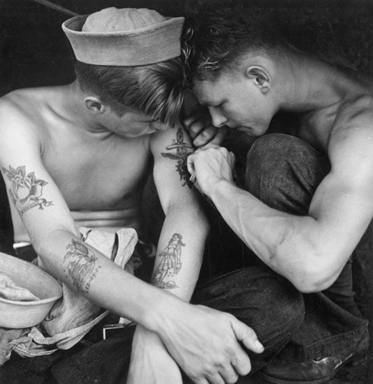 Les tatouages marins pour se protéger