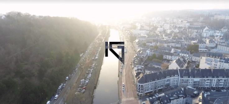 Le vidéaste Ilan Gursoy aborde Quimper en drone