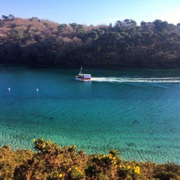La ria du Bélon et son eau turquoise