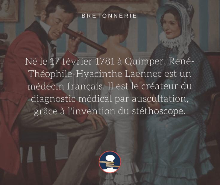 La première des inventions bretonnes, le stéthoscope