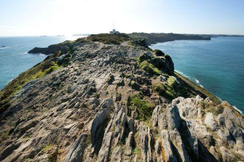 La Pointe du Groin et ses roches tranchantes !