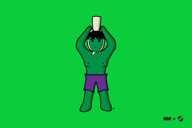 La Bigoudène Hulk - BD bretonne