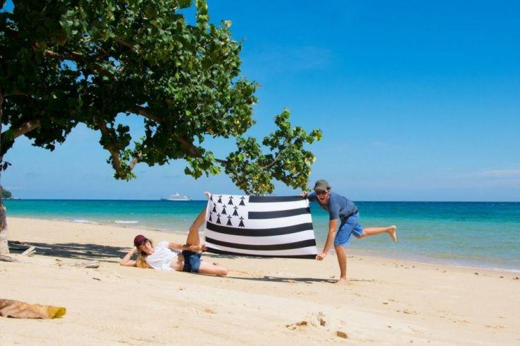 On n'a pas les mêmes plages, mais on la même passion !