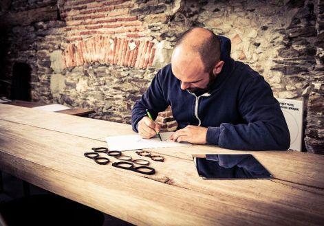 Jean-Philippe Douis est le designer des lunettes Naoned Eyewear