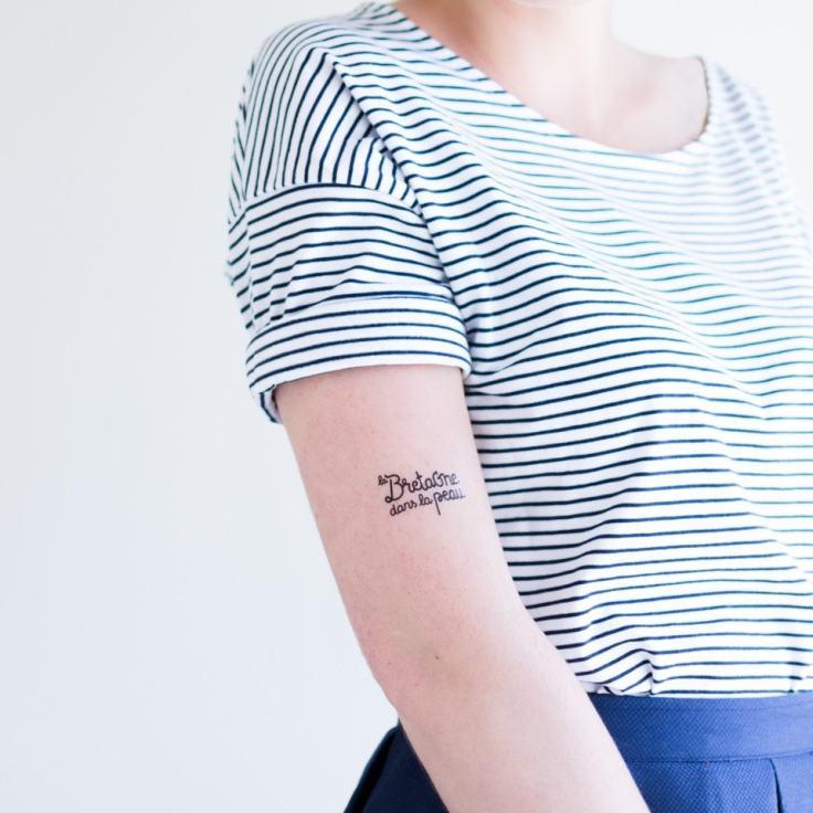 Le plus cool des tatouages éphémères