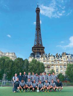 Union Sportive des Bretons de Paris, le club de football le plus à l'ouest de la capitale !