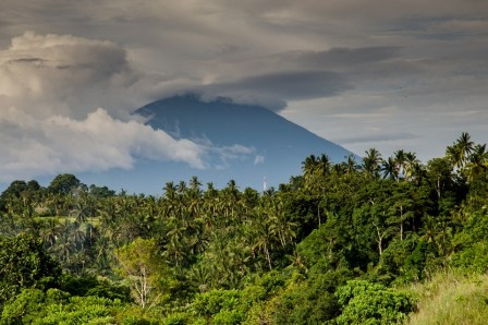 Volcan à Bali