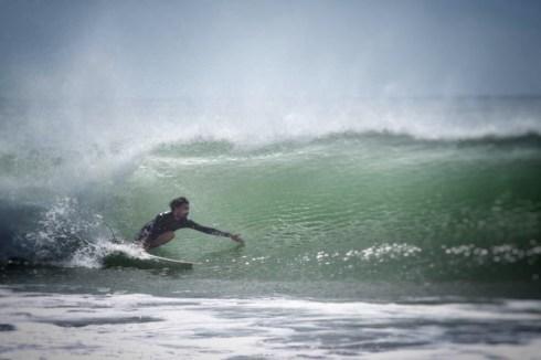 Malo surf une vague