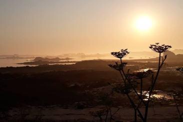 Levé soleil SantecLevé soleil à Santec en Bretagne