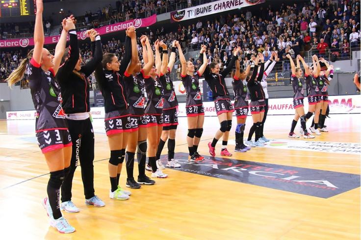 Brest Bretagne Handball championne