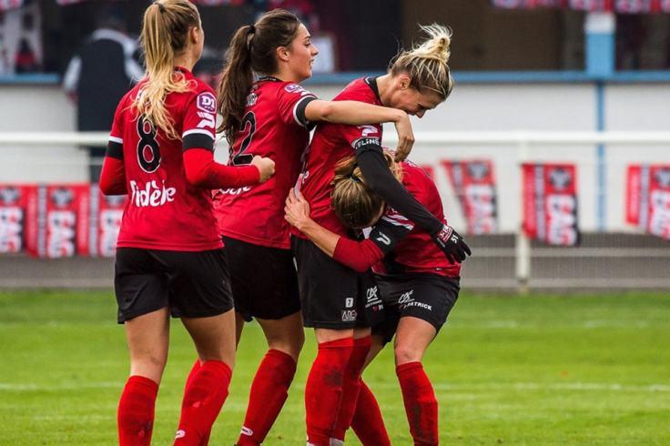 Football féminin breton EA Guingamp