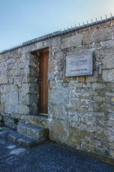L'entrée du Fort Bloqué nous rappelle que c'est une propriété privée !