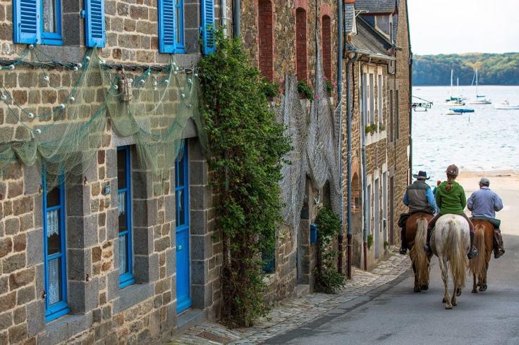 Le village de pêcheurs en bord de Rance