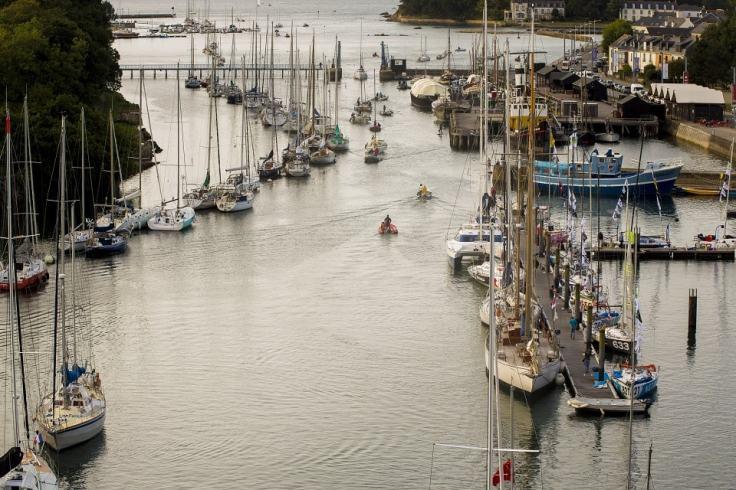 Les bateaux musées à Douarnenez