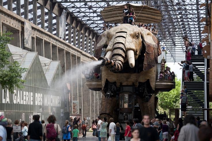 Visiter les machines de l'île de Nantes
