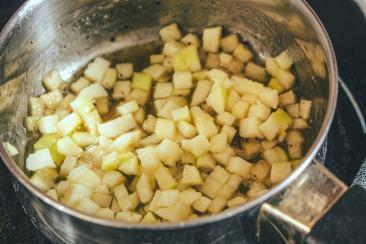 La recette de palet breton ne peut se passer de sa brunoise de pomme !