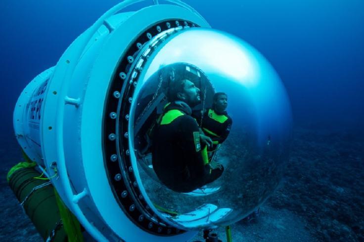 Cockpit de la capsule scientifique Under the Pole