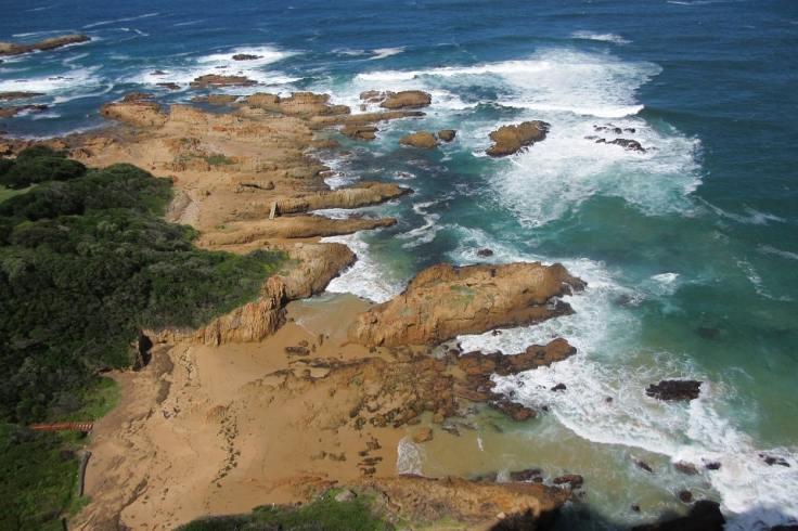 Falaises de Knysna en Afrique du Sud