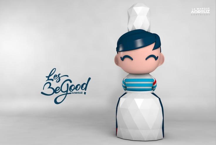 Une figurine bigoudène BeGood sont le nouvel ArtToy breton