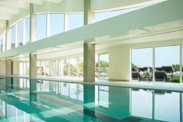 Au cours de notre test du Sofitel de Quiberon, nous avons bien entendu essayé la piscine d'eau de mer chauffée !