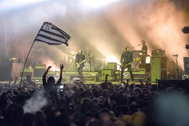 Présence du drapeau breton dans un concert