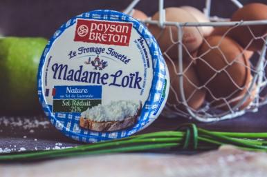 pot de fromage fouetté