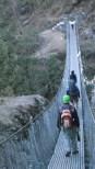 bridge over the Dudh Khosi river