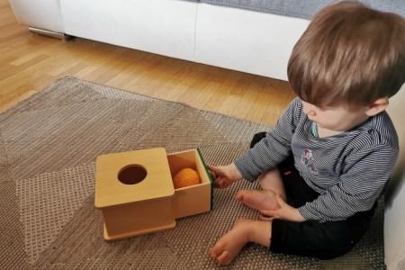une boite à forme Montessori a fabriquer