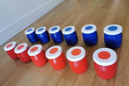 Matériel pédagogique Montessori: Fabriquer des boites à sons