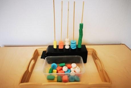 Les abaques: un matériel éducatif à fabriquer soi-même.