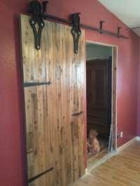 Antique Industrial Hardware Sliding Barn Door | Porter ...