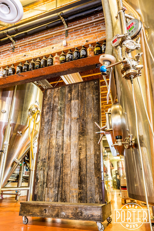 SanTan Brewing Company  Porter Barn Wood