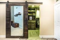 Closet Sliding Door with Mirror