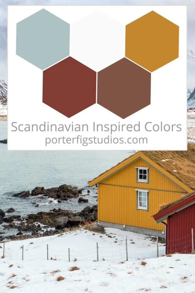 Scandinavian inspired color palette 4