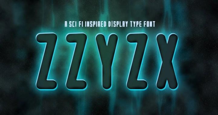 ZZyZx Font by Porter Fig Studios
