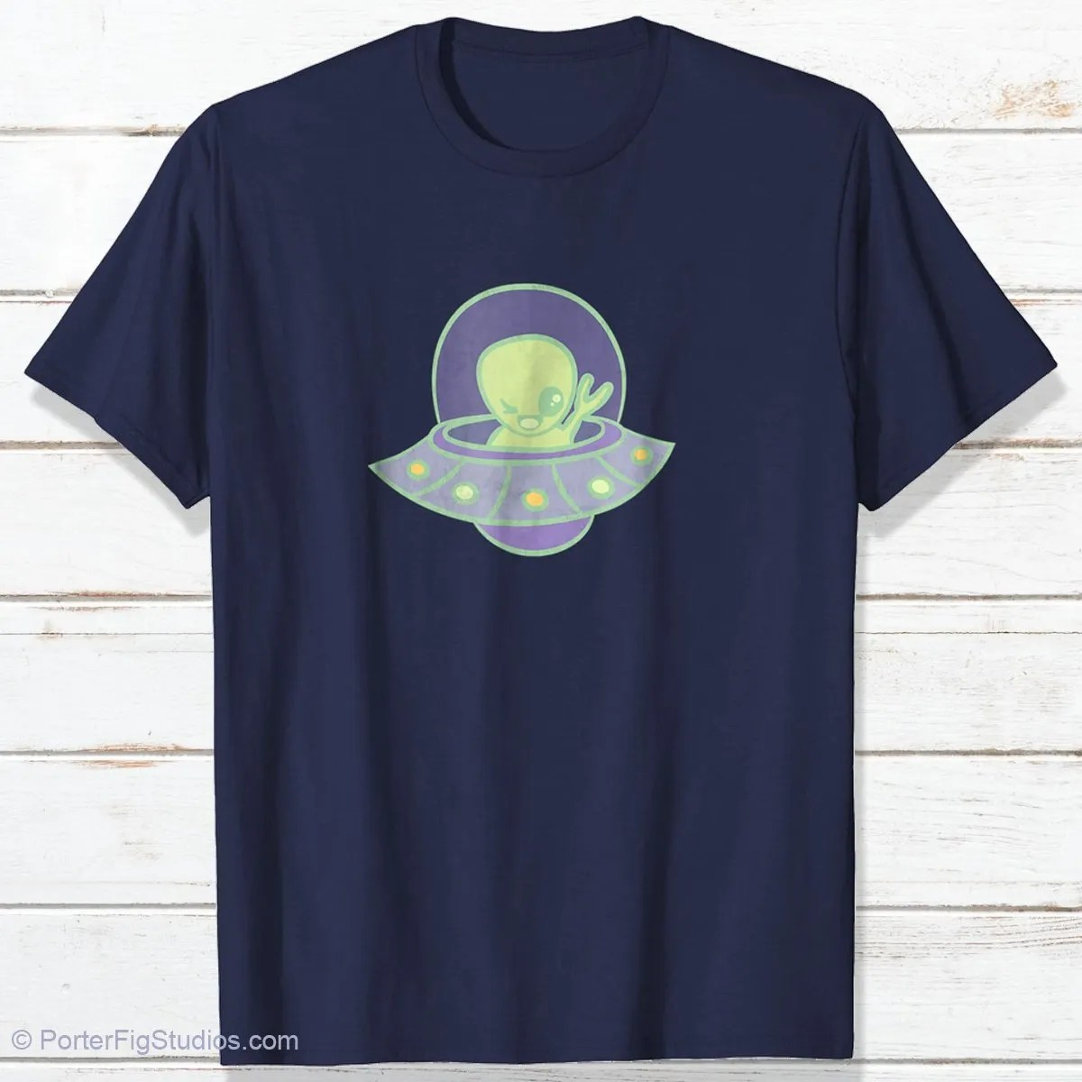 alien t-shirt by porter fig studios