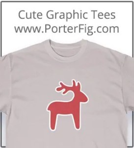 Cute T-shirts from PorterFig.com