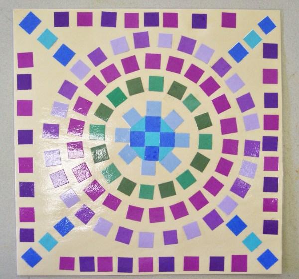 Paper Mosaic Porterspaintpalette