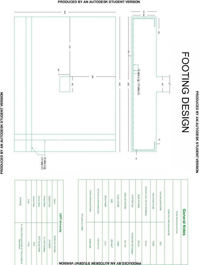 medium resolution of r c c footing design