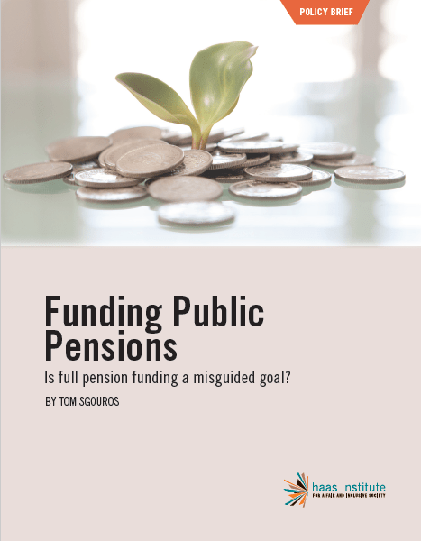 """""""Funding Public Pensions"""" cover"""