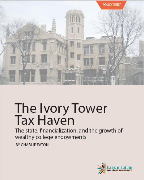 Ivory Tower Tax Haven Cover