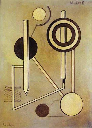 Picabia - Balance - peinture originale