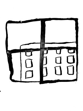 What symbol does the window signify for people in private spaces?
