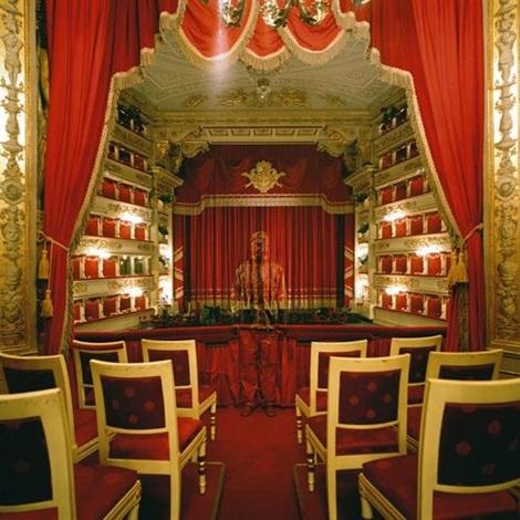 royal box at teatro alla scala