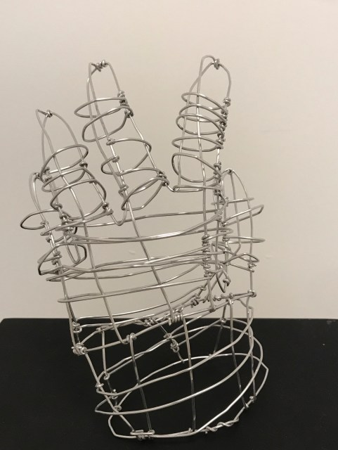 wire hand 1
