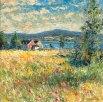 Parfum de fleurs flâne dans les champs